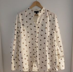 Victoria Beckham for Target Blouse, size XL